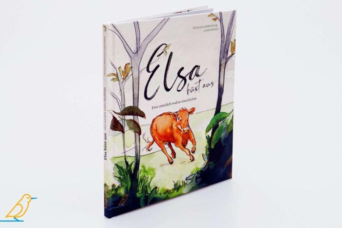 """Produktansicht Bilderbuch """"Elsa büxt aus"""" von Christiane Wittenburg und Linda Mieleck"""