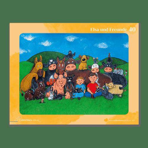 """Puzzle für Kinder """"Elsa und Freunde"""""""