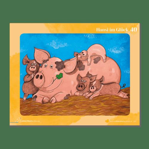 """Puzzle für Kinder """"Hansi im Glück"""""""