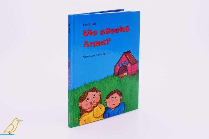 """Bilderbuch """"Wo steckt Anna?"""", 3D-Ansicht"""