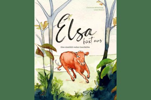 Bilderbuch-Cover »Elsa büxt aus«