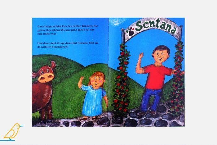 """Innenansicht Bilderbuch """"Elsa ist da!"""""""