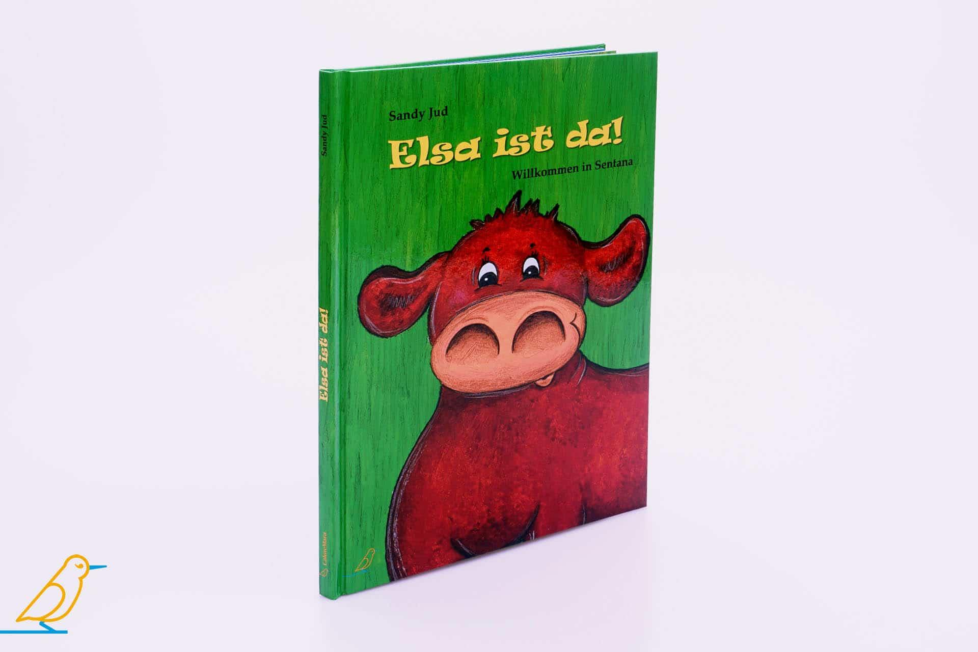 """Bilderbuch """"Elsa ist da!"""" 3D-Ansicht"""