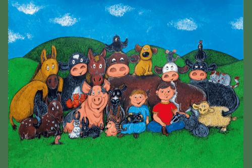 Poster Elsa und ihre Freunde