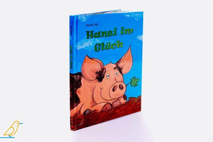 """Bilderbuch """"Hansi im Glück"""" 3D-Ansicht"""