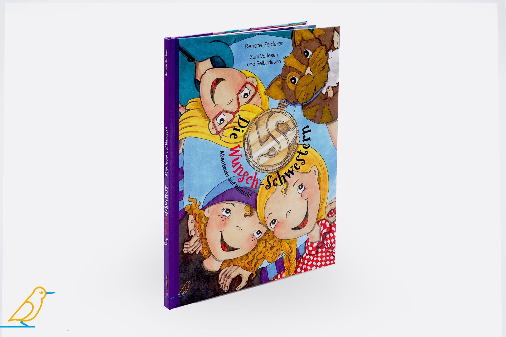 """Seitenansicht: Kinderbuch """"Die Wunsch-Schwestern"""""""