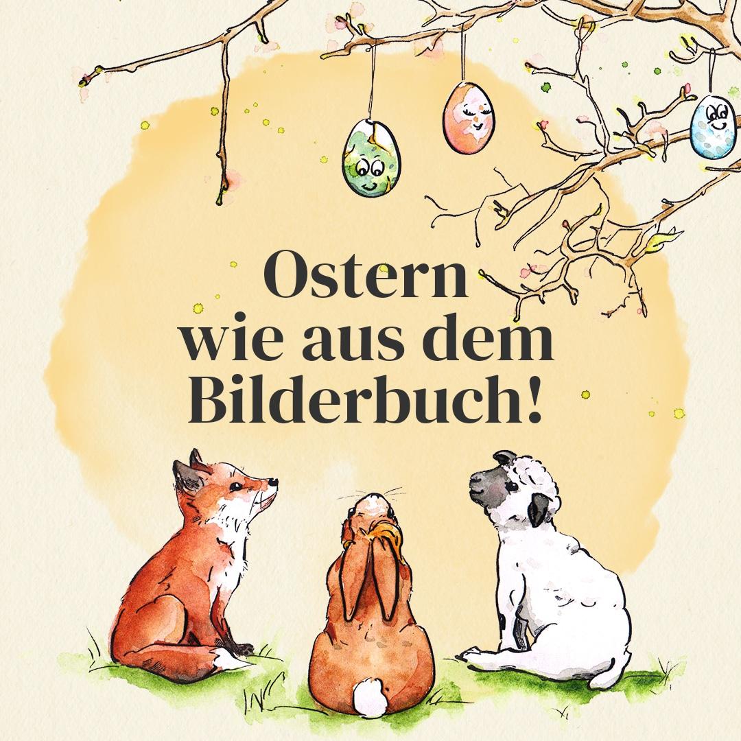 Ostern wie aus dem Bilderbuch