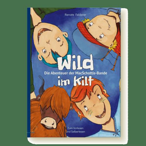 Bilderbuch Cover - Wild im Kilt