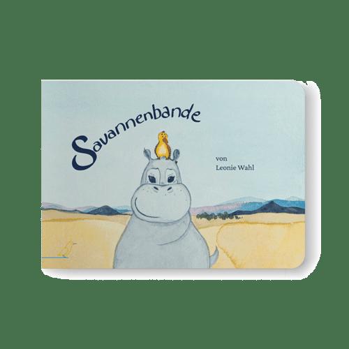 """Cover Bilderbuch """"Savannenbande"""" von Leonie Wahl"""